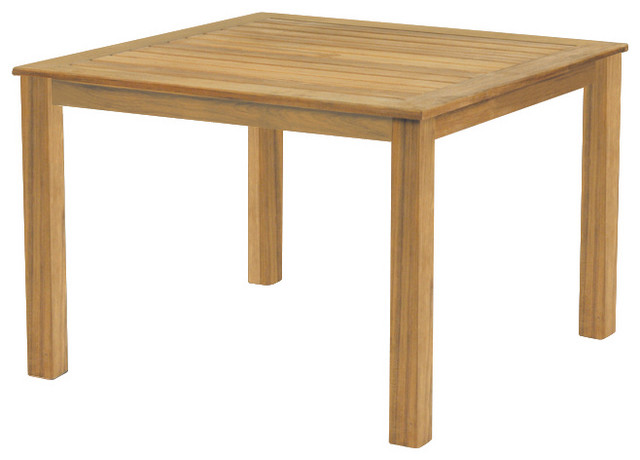 Wainscott 42 Square Dining Table - By Kingsley Bate traditional outdoor tables