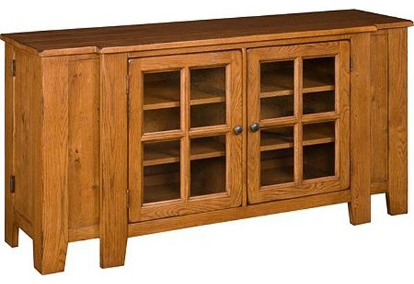 Broyhill Attic Heirlooms 62 Inch Tv Console In Natrual