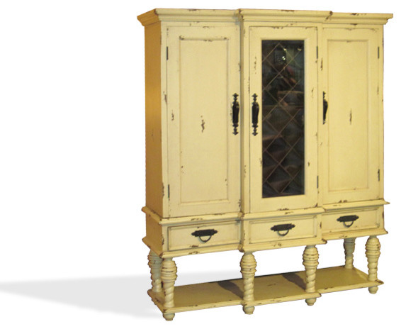 Wine Cabinets - Traditional - Wine And Bar Cabinets - houston - by ...