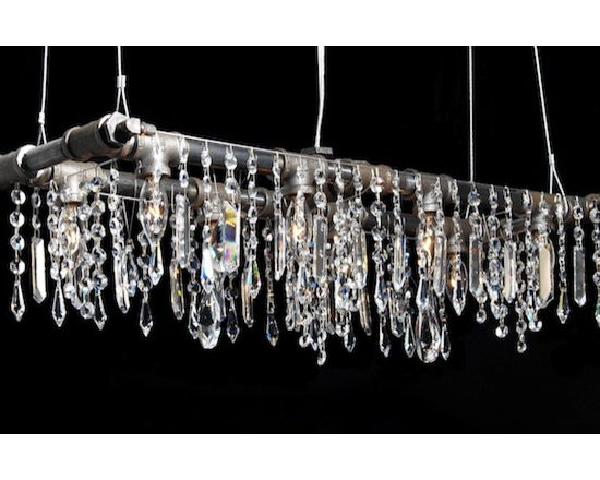 "Michael McHale Designs - Tribeca Collection Banqueting Chandelier (8-Bulb) - 29"" x 9"""