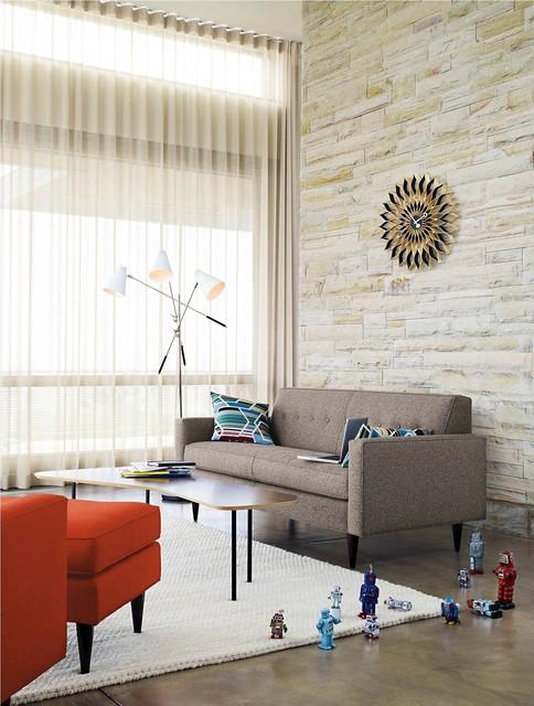 DWR Living modern-living-room