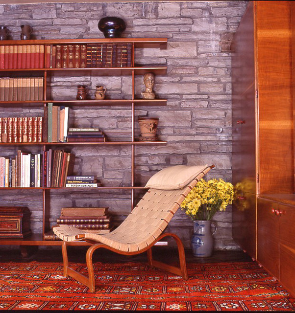 Frank Lloyd Wright Fireplace Screens: By Fallingwater