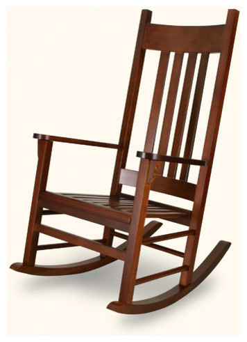 Country Adult Rocking Chair modern-rocking-chairs