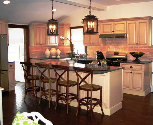 """Kitchen Remodel (as seen on the DIY Network """"Rescue My Renovation"""") by Cipriani contemporary"""