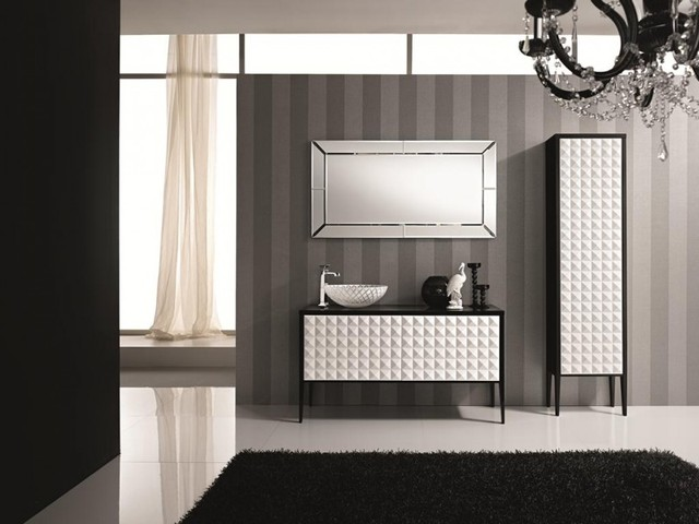 Italian Bathroom Vanities Nea Italia Model Diamante Modern Bathroom Vanity Units