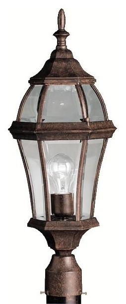 BUILDER Townhouse Traditional Outdoor Post Lantern X-ZT2999 contemporary-post-lights