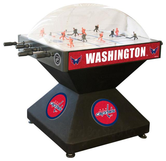 Holland Bar Stool DHWshCap Washington Capitals Dome Hockey contemporary-game-tables