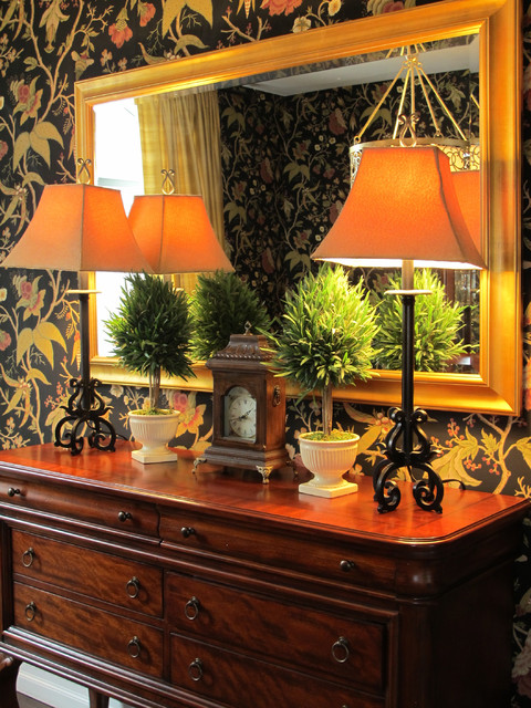 Residential eclectic-dining-room
