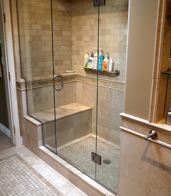 French country master suite renovation traditional for Bathroom ideas vancouver