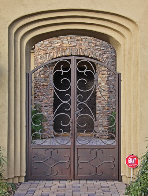 Custom Iron Gates By First Impression Security Doors