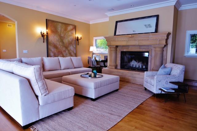 Home Staging - Palos Verdes, CA mediterranean-living-room