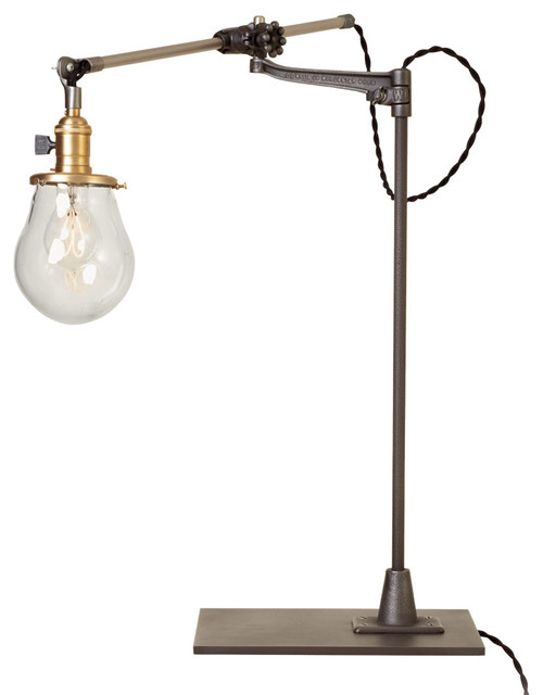 Lone Rock Bench-Mount Table Lamp