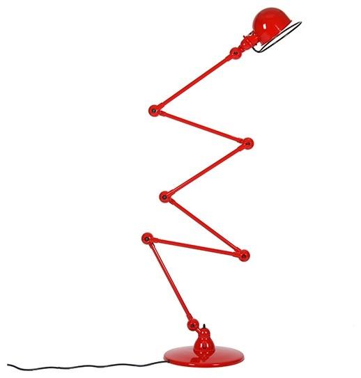Zig Zag Patio Lights: Loft Zig-Zag Floor Lamp