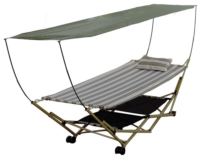 Portable Chair With Canopy : Bliss hammocks stow ez portable hammock and part stand