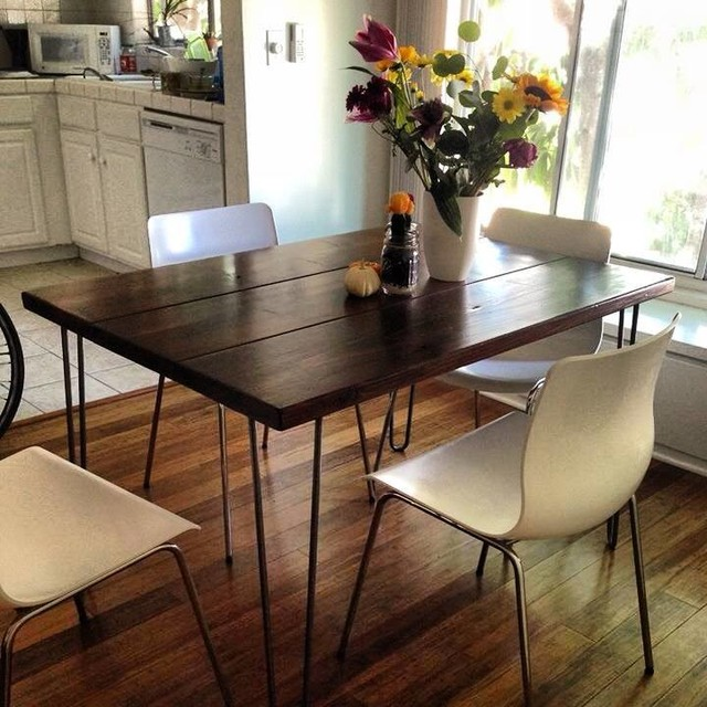 4ft Hairpin Leg Dining Table - Modern - Dining Tables ...