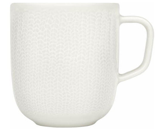ittala Sarjaton Mug 12 Oz. Letti White 2 Pc. Set - In a modern interpretation of Finnish traditions, Iittala features Sarjaton as a completely new way of thinking about tableware. The soft shapes and rich visuals of this exciting collection allow numerous combinations for contemporary dining. Sarjaton, meaning &without series& in Finnish is a range that redefines the freedom of flexibility. The essential parts can be used whenever for whatever and play just as well together as by themselves. Touch the embossed plates and enjoy the soft, muted tones of the palette. Shaped by tradition, tailored for today, Sarjaton gives you the natural tools to create as you like.