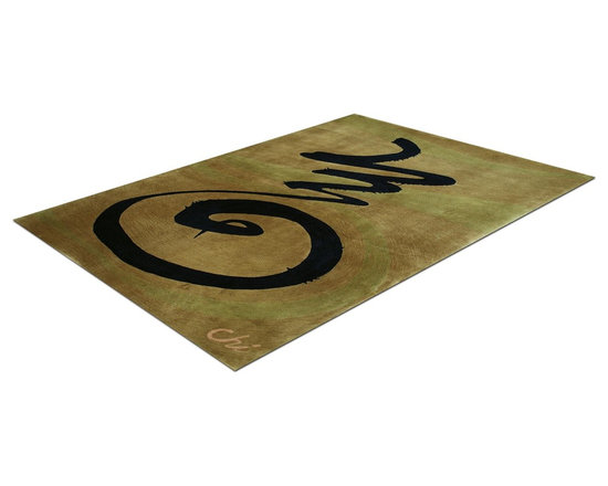 Zen Rug Collection Chi - Allure Custom Rug Studio. Can be made in any size, color, or shape. Made in Denver