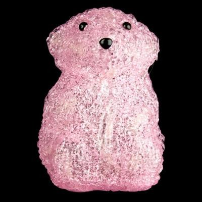 XEPA 6 in. Decorative Pink Baby Bear Standing LED Light EHX-AB1-PNK contemporary-ceiling-fans