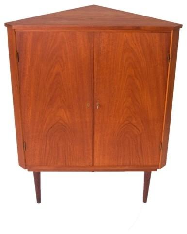 Vintage Danish Modern Corner Cabinet Modern Furniture Minneapolis By Danish Teak Classics