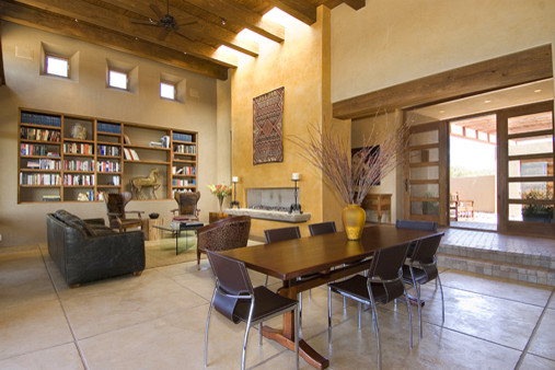 Contemporary Home in Santa Fe, New Mexico contemporary-kitchen