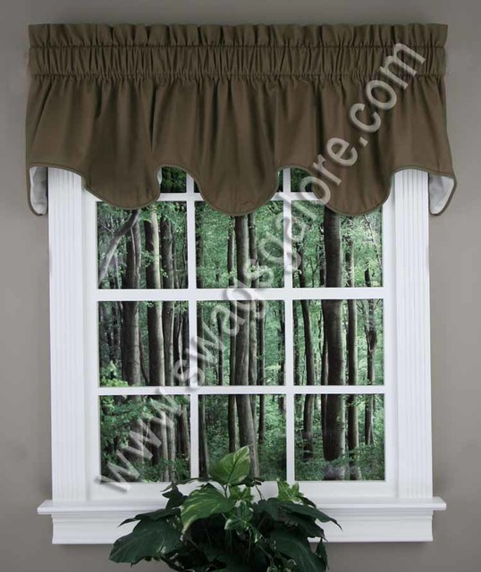 Valance Ideas For The Winter traditional