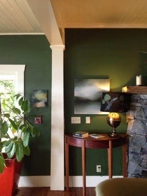 Willows Inn, Lummi Island eclectic-artwork