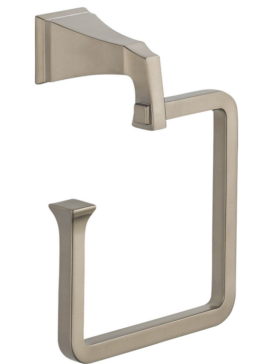 Delta - Dryden Towel Ring in Stainless - Delta 75146-SS Dryden Towel Ring in Stainless.