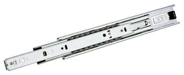 """Accuride 3832 Series - 10"""" Full Extension Ball Bearing Drawer Slide, 10"""", One traditional-brackets"""
