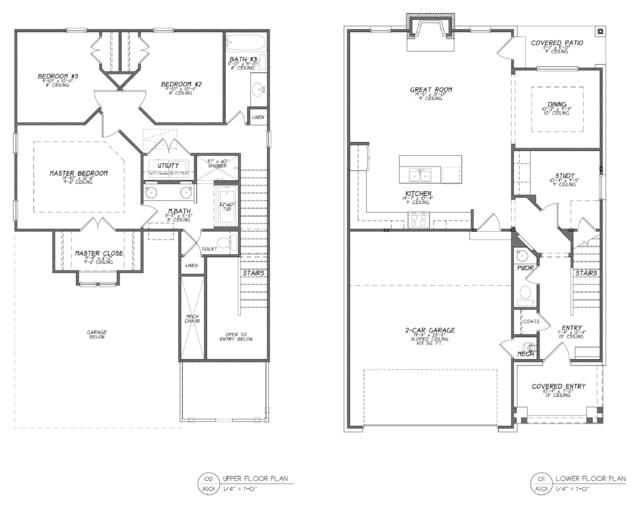 Boulevard Bungalow Floor Plan Traditional Floor Plan