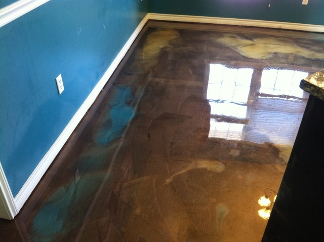 Metallic Epoxy Flooring Dallas By Solid Impressions