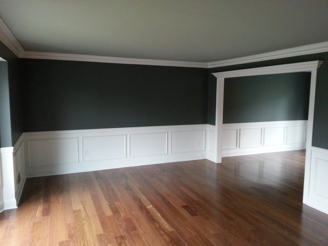 Living Room Wainscoting Traditional New York By Jl