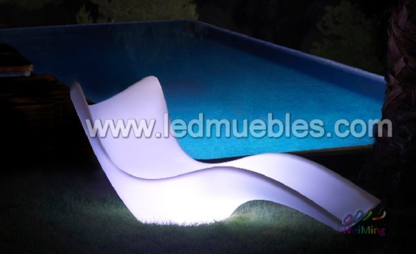 event Lighted Outdoor Sofa with 16 Light Colors contemporary-sofas