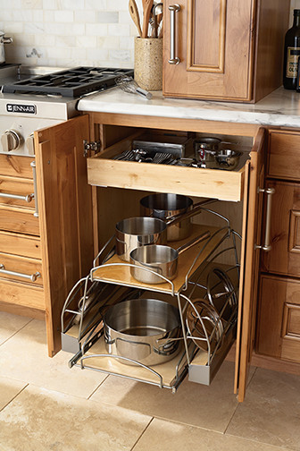 Kitchen Cabinet Organizers Pots And Pans   Pots And Pans Roll Out Kitchen  Drawer Organizers