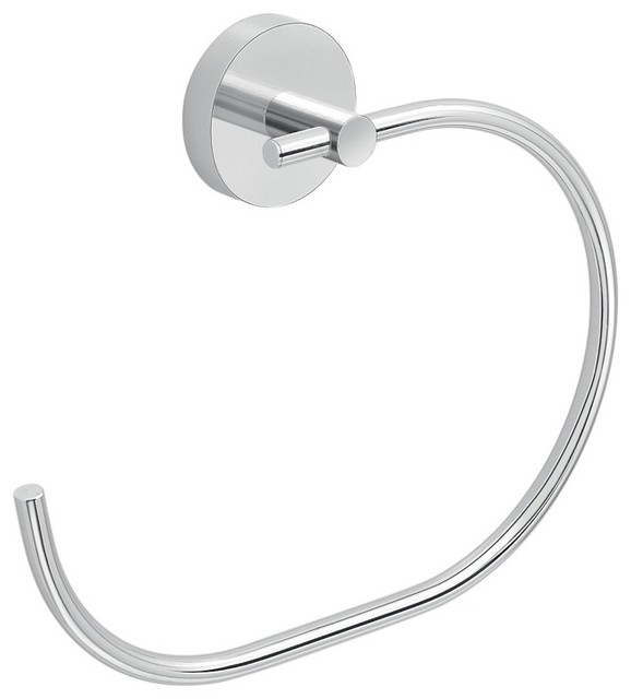 C' Style Hand Towel Ring contemporary-towel-rings