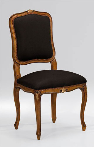 Louis XV Style Carved Cherry Side Chair dining-chairs