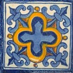 Handpainted Ceramic Grand Tile Collection mediterranean-tile
