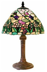 Tiffany-Style Lake Table Lamp traditional-table-lamps