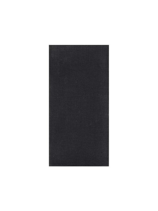 Chilewich Black Linen Napkin -