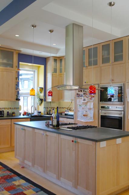 marlborough condo contemporary-kitchen