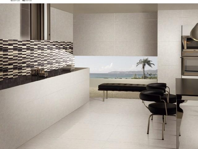 Large Format 4.8mm Thin Porcelain Tiles floor-tiles