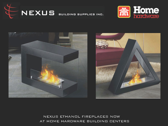 NEXUS PRODUCTS contemporary-fire-pits