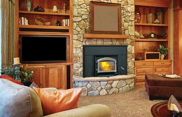 Napoleon 1101p series 28 39 39 x 22 39 39 wood burning insert Contemporary wood burning fireplace inserts