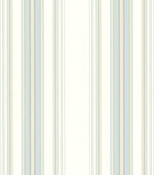 Lenna Blue Jasmine Stripe Wallpaper Transitional Wallpaper By Brewster Home Fashions