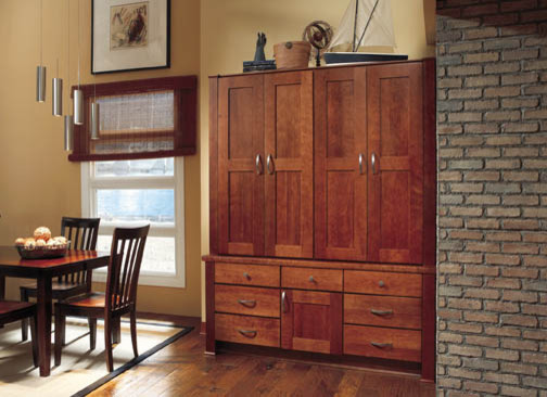 China Hutch contemporary-kitchen-cabinets