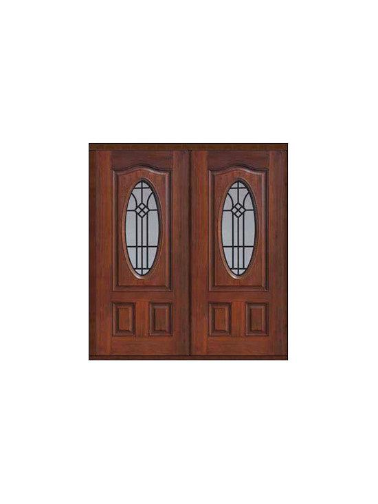 """Prehung Double Door 80 Fiberglass Cantania Oval Lite GBG Glass - SKU#MCT022WCA_DFOCAG2BrandGlassCraftDoor TypeExteriorManufacturer CollectionOval Lite Entry DoorsDoor ModelCantaniaDoor MaterialFiberglassWoodgrainVeneerPrice2840Door Size Options2(32"""")[5'-4""""]  $02(36"""")[6'-0""""]  $0Core TypeDoor StyleDoor Lite StyleOval LiteDoor Panel StyleEyebrowHome Style MatchingDoor ConstructionPrehanging OptionsPrehungPrehung ConfigurationDouble DoorDoor Thickness (Inches)1.75Glass Thickness (Inches)Glass TypeDouble GlazedGlass CamingGlass FeaturesTempered glassGlass StyleGlass TextureGlass ObscurityDoor FeaturesDoor ApprovalsEnergy Star , TCEQ , Wind-load Rated , AMD , NFRC-IG , IRC , NFRC-Safety GlassDoor FinishesDoor AccessoriesWeight (lbs)603Crating Size25"""" (w)x 108"""" (l)x 52"""" (h)Lead TimeSlab Doors: 7 Business DaysPrehung:14 Business DaysPrefinished, PreHung:21 Business DaysWarrantyFive (5) years limited warranty for the Fiberglass FinishThree (3) years limited warranty for MasterGrain Door Panel"""