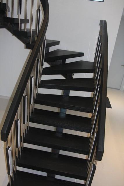 Naples Home: Staircase modern-staircase