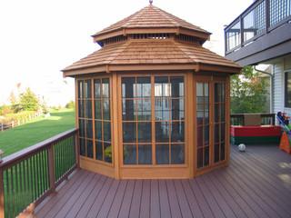 Backyard Enclosed Gazebo