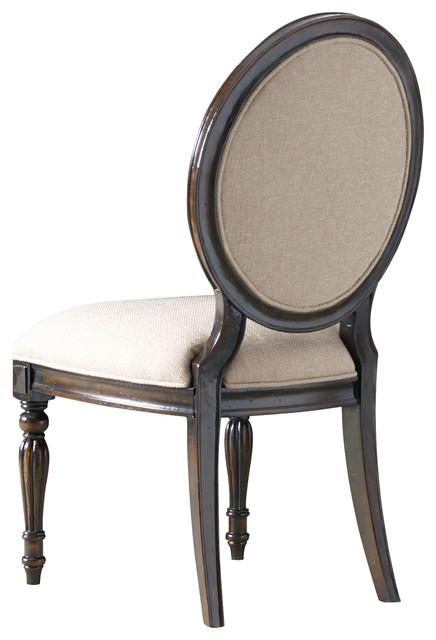 Hooker Eastridge Oval Back Side Chair Set of 2