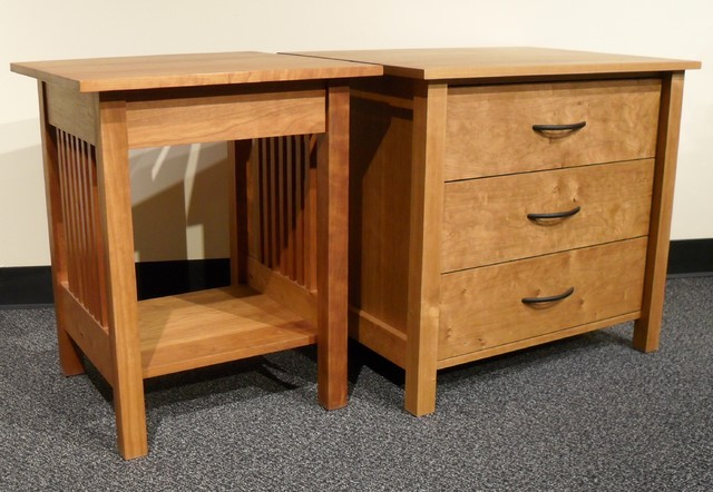 MISSION NIGHTSTANDS traditional-nightstands-and-bedside-tables