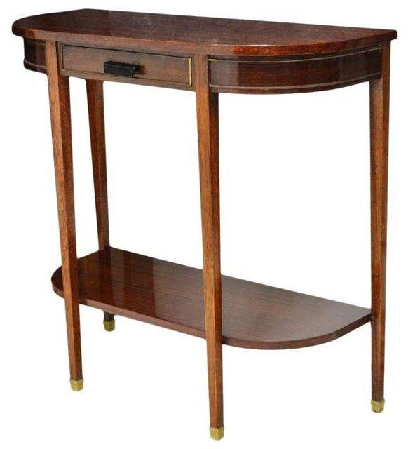 Italian Mid-century Modern Console Table - $2,000 Est. Retail - $725 on Chairish mediterranean ...